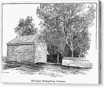 Old Quaker Meeting House Canvas Print by Granger