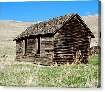 Old Ranch Hand Cabin Canvas Print