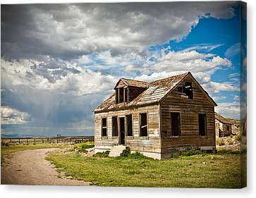 Canvas Print - Old Ranch House by Sheri Van Wert