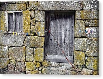 Old Rural House Canvas Print by Carlos Caetano