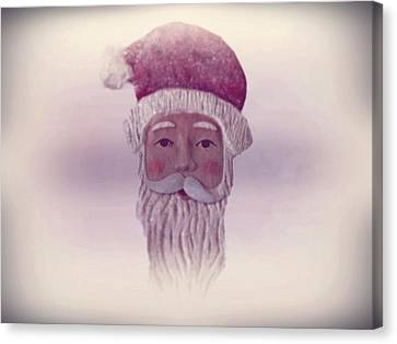 Old Saint Nicholas Canvas Print by David Dehner
