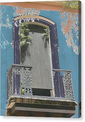 Old San Juan 12 Canvas Print