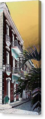 Old San Juan 5 Canvas Print