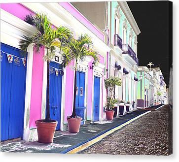 Old San Juan 6 Canvas Print