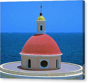 Old San Juan Canvas Print by Jerry L Barrett