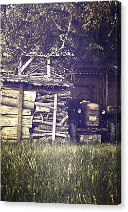 Old Shed Canvas Print by Joana Kruse