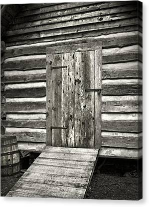 Old Shed Canvas Print by Patrick M Lynch