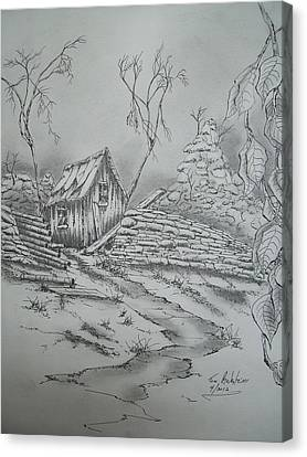 Old Shed Canvas Print by Tom Rechsteiner