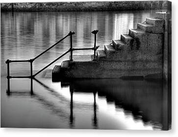 Old Stairway Canvas Print by Ander Aguirre photography