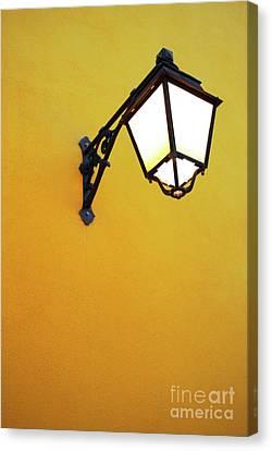 Old Street Lamp Canvas Print by Carlos Caetano