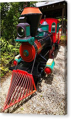 Old Time Train Canvas Print by Garry Gay