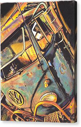 Old Timer Canvas Print by Sharon Poulton