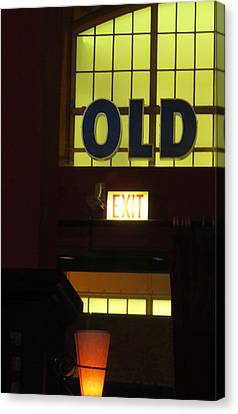 old Canvas Print by Todd Sherlock