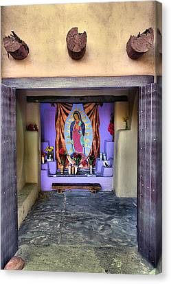 Our Lady Of Guadalupe Canvas Print - Old Town Chapel II by Steven Ainsworth