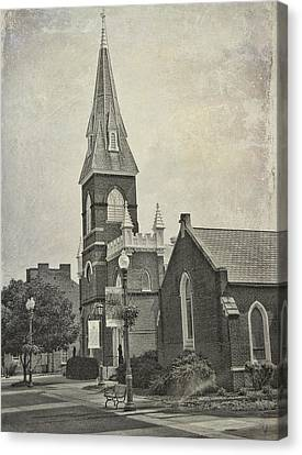 Old Town Church Canvas Print by Kathleen Holley
