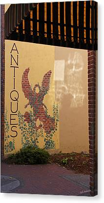 Old Town Grants Pass Detail Canvas Print by Mick Anderson