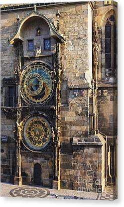 Old Town Hall Clock Canvas Print by Jeremy Woodhouse