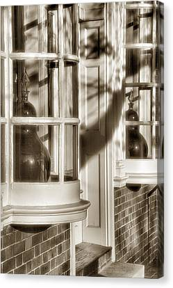Old Town Windows Canvas Print by Steven Ainsworth