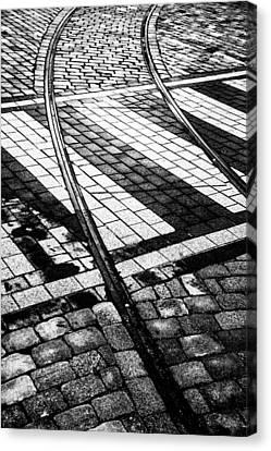 Old Tracks Made New Canvas Print by Hakon Soreide