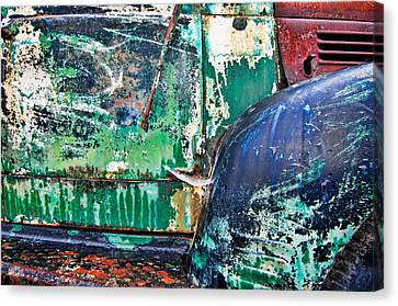 Old Truck Abstract Canvas Print by Tim Fleming