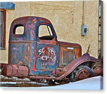 Old Truck Canvas Print by Johanna Bruwer