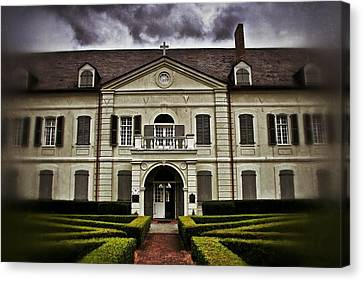 Old Ursuline Convent Canvas Print by Jim Albritton