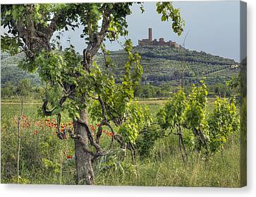 Tuscany Castle Canvas Print by Al Hurley