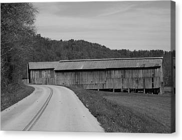 Old Warehouses Canvas Print