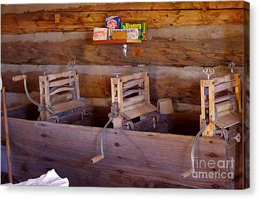 Canvas Print featuring the photograph Old West 2 by Deniece Platt