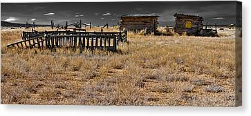 Old West Canvas Print by Atom Crawford
