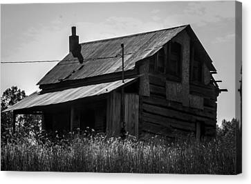 Old West Va Cabin Canvas Print by Toma Caul