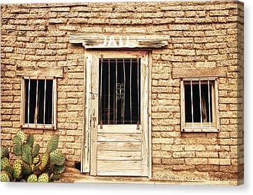 Verde River Canvas Print - Old Western Jailhouse by James BO  Insogna