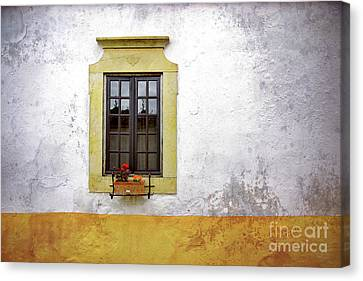 Outlook Canvas Print - Old Window by Carlos Caetano
