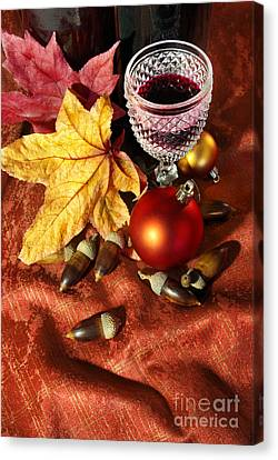 Old Wine Glass Canvas Print by Carlos Caetano