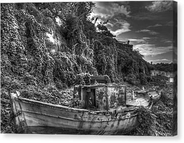 Oldboat Canvas Print