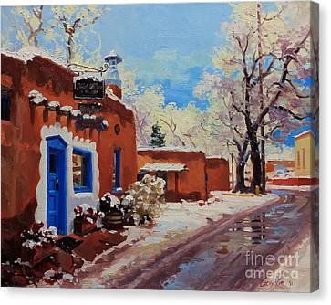 Oldest Adobe House  Canvas Print by Gary Kim