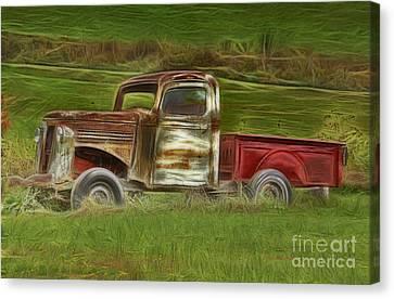 Oldie But Goodie Canvas Print by Deborah Benoit