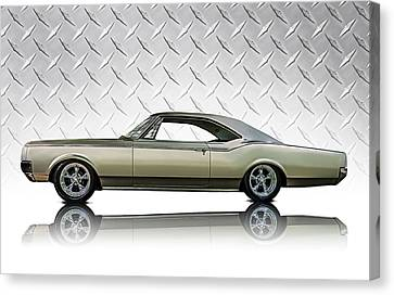 Olds 88 Star Fire Canvas Print
