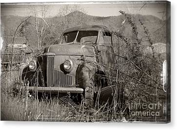 Ole Studebaker II Canvas Print by Laurinda Bowling