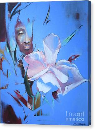 Oleandera Canvas Print