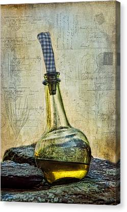 Olive Oil Canvas Print by Robin-Lee Vieira