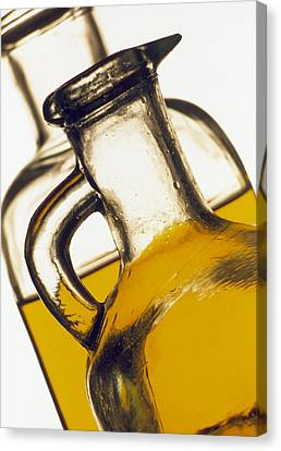 Olive Oil Canvas Print by Tony Craddock