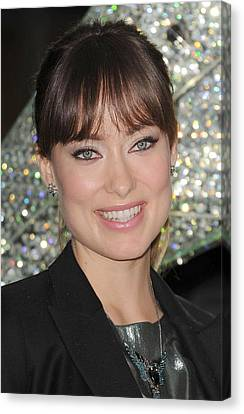 Olivia Wilde At A Public Appearance Canvas Print by Everett