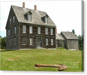 Olson House Canvas Print by Theresa Willingham