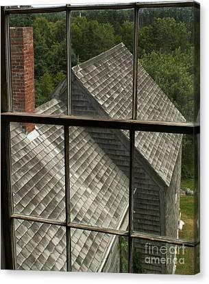 Olson House Through Window Canvas Print