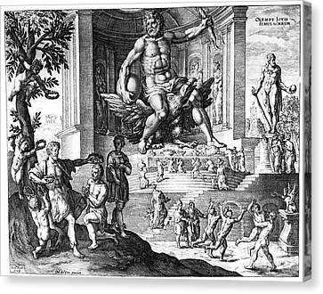 Olympia: Zeus Canvas Print by Granger