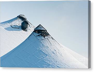 Canvas Print featuring the photograph Olympic Snow by Andrew  Michael