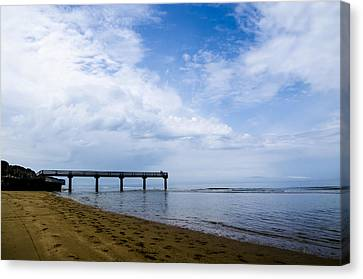 Omaha Beach Canvas Print