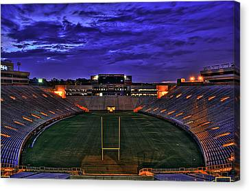 Ominous Stadium V2 Canvas Print