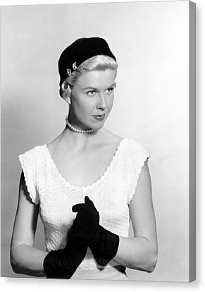 On Moonlight Bay, Doris Day, 1951 Canvas Print by Everett